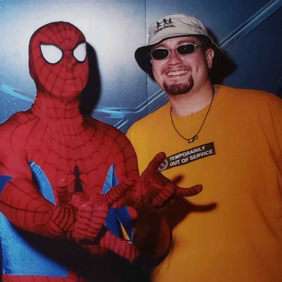 Me and Spiderman!